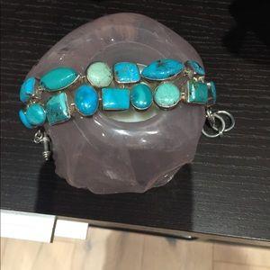 Turquoise Sterling Silver Bracelet